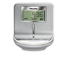 AJ100/12  Rádio relógio com sintonização digital