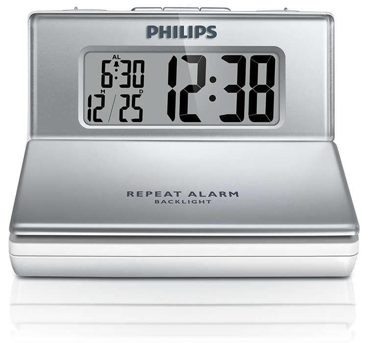 Despertador compacto