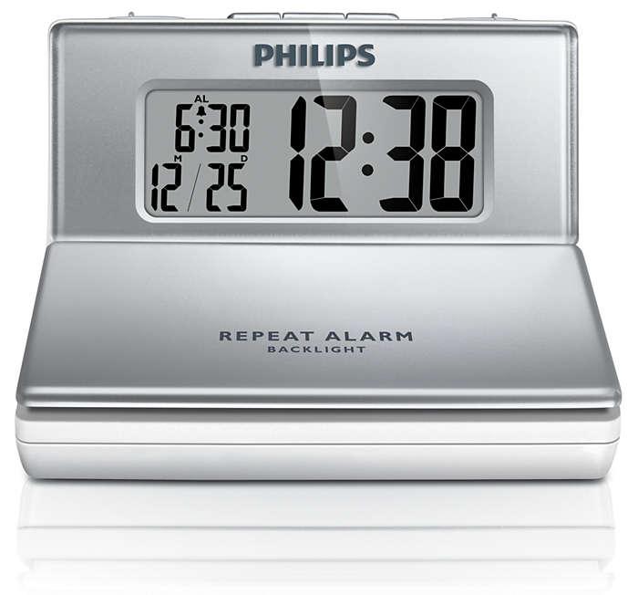 Kompakt väckarklocka