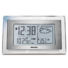 AJ210/12  Időjárás-előrejelzéses, órás rádió