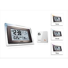 AJ260/05  Weather Clock Radio
