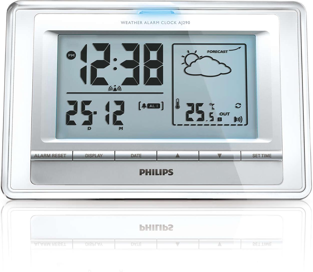 Persönliches Wettervorhersagegerät