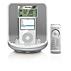 Rádio-relógio para iPod/iPhone