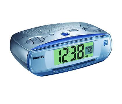 Отображение времени будильника