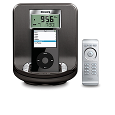 AJ301DB/12  Radio-réveil pour iPod