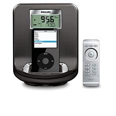 AJ301DB/12  Klokradio voor iPod