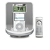 """Laikrodis-radijas, skirtas """"iPod"""""""
