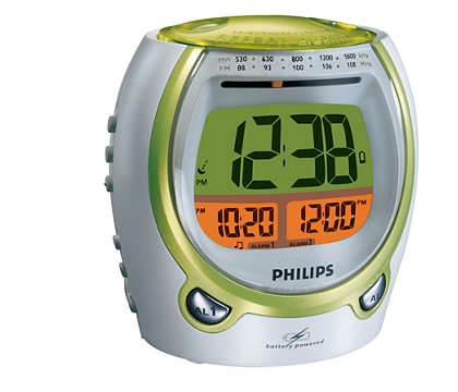 Talking alarm clock with voice confirmation