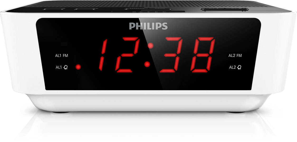 radio r veil avec tuner num rique aj3115 12 philips. Black Bedroom Furniture Sets. Home Design Ideas