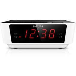 Radio cu ceas şi acord digital