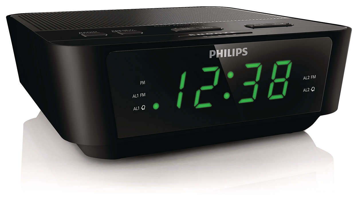 Digital Tuning Clock Radio Aj3116m 37 Philips Beeper Alarm Circuit With Start Your Day Way