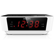 AJ3116W/37  Digital tuning clock radio