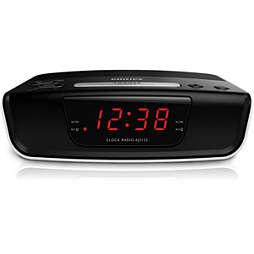 Clockradio med digital tuning