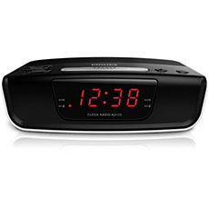 AJ3123/12  Digital tuning clock radio
