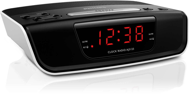 Digital Tuning Clock Radio Aj3123 12 Philips Kit Fm Display Frequensi Counter Untuk Tuner Start Your Day Way