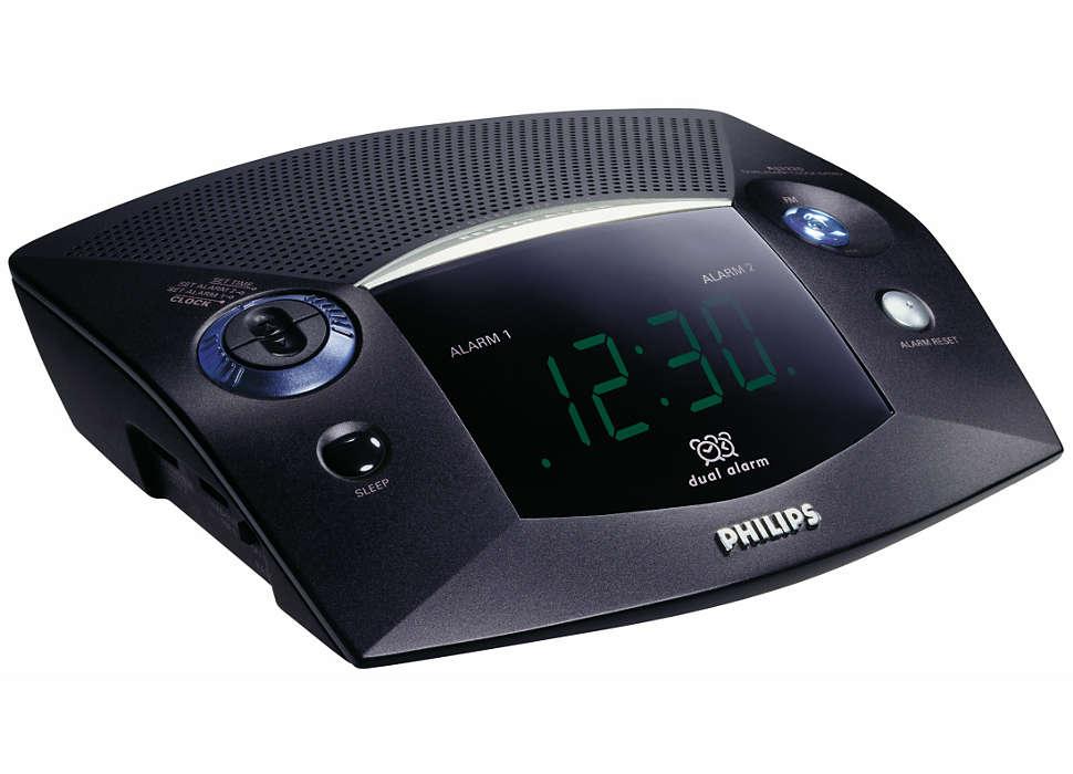 Събудете се с радио или зумер
