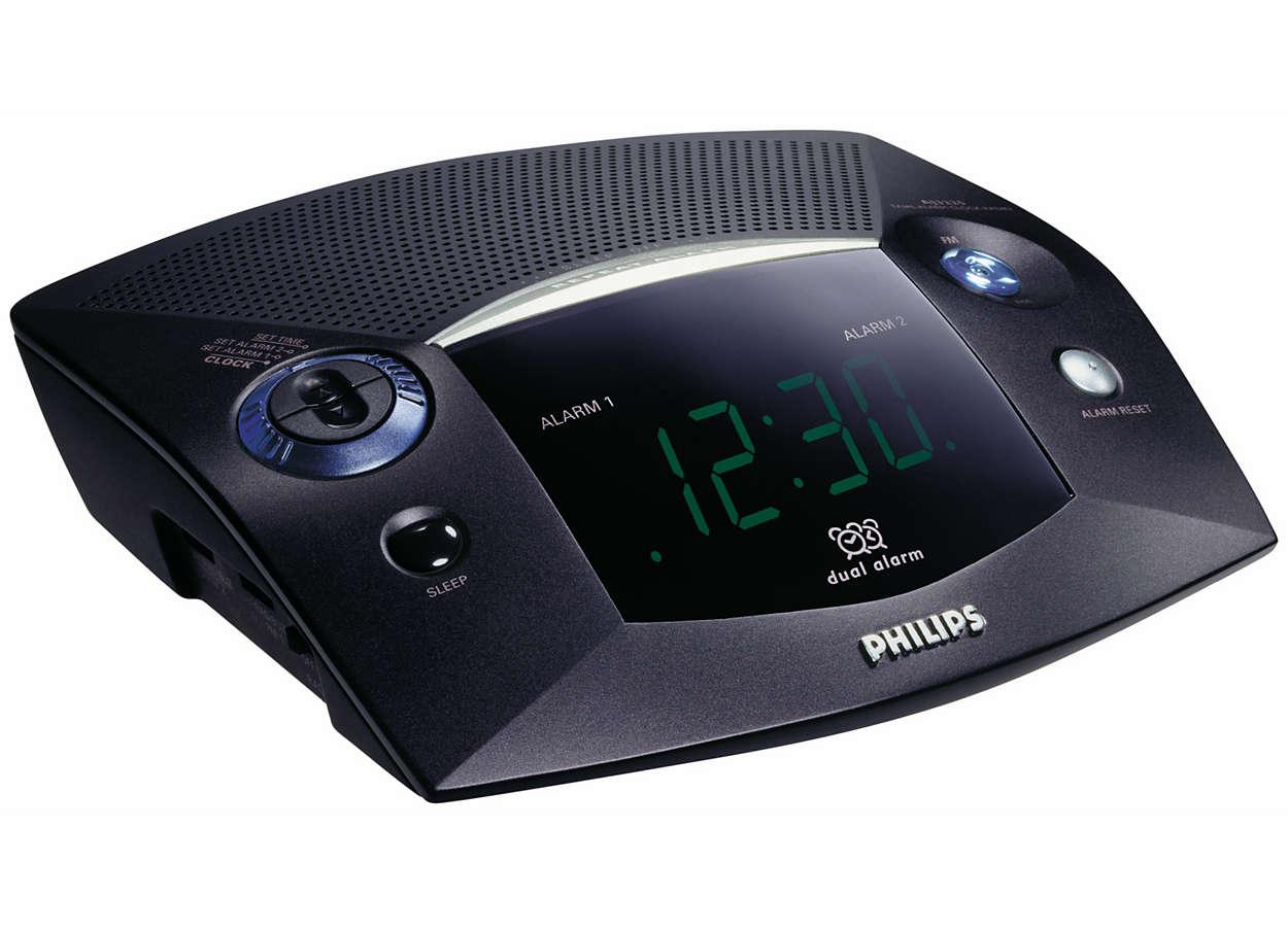 Ξυπνήστε με τους ήχους του ραδιοφώνου ή του βομβητή