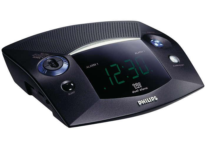 Puoi svegliarti con la radio o il cicalino