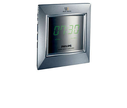 Wake up with radio or buzzer