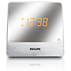 Philips Clock Radio AJ3231 Mirror finish display FM, Analogue tuning Dual alarm Built-in Audio-in cable