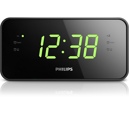 clock radio aj3232b 37 philips. Black Bedroom Furniture Sets. Home Design Ideas