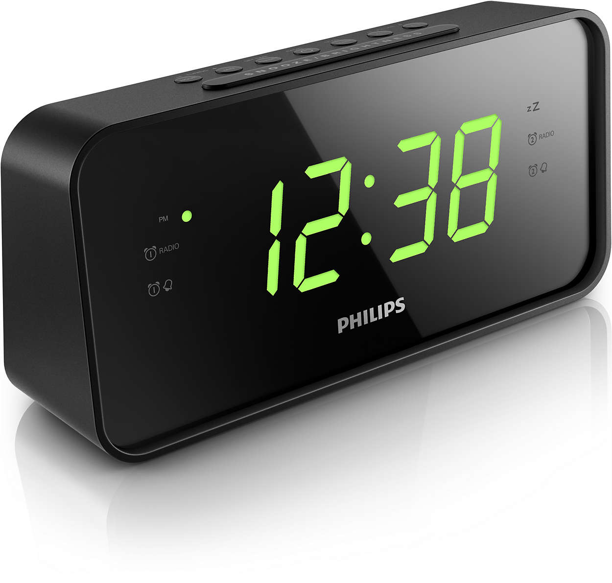 large number alarm clock radio unique alarm clock. Black Bedroom Furniture Sets. Home Design Ideas