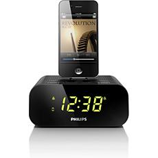 AJ3270D/05  Clock radio for iPod/iPhone