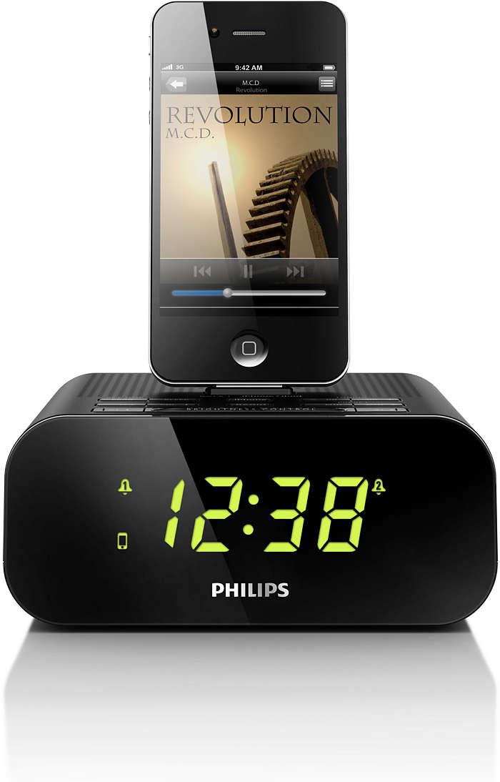 Vågn op til din musik fra iPod/iPhone