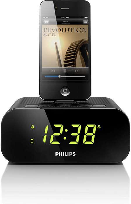 ตื่นขึ้นมาด้วยเสียงเพลงจาก iPod/iPhone