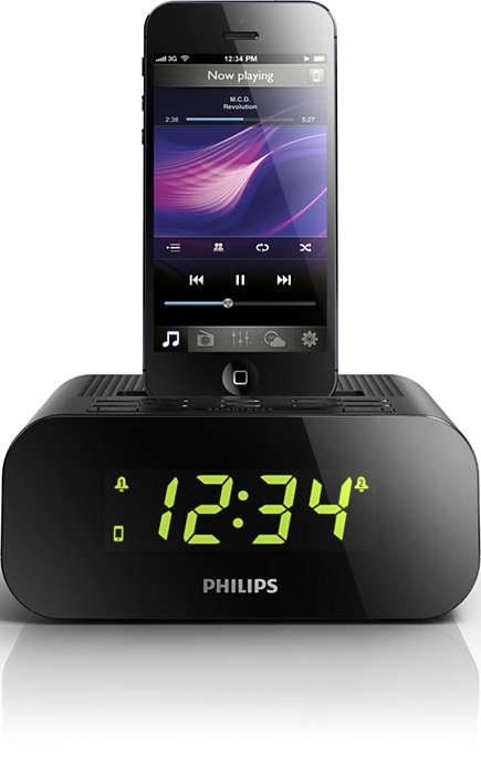 Treziţi-vă cu sunetul excepţional de pe iPodul/iPhone-ul dvs.