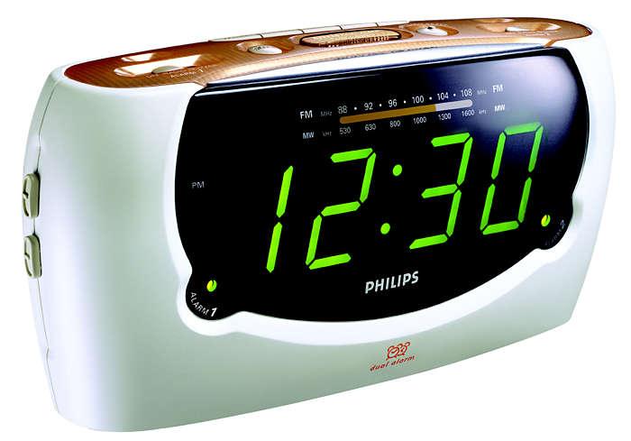 Reloj despertador con voz y confirmación verbal
