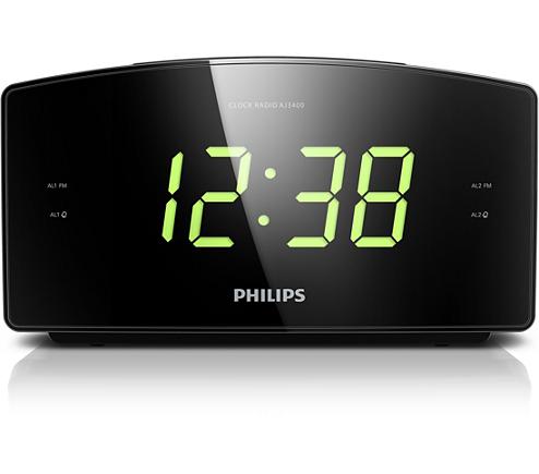 Clock Radio Aj3400 12 Philips