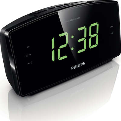 Large Number Alarm Clock Radio