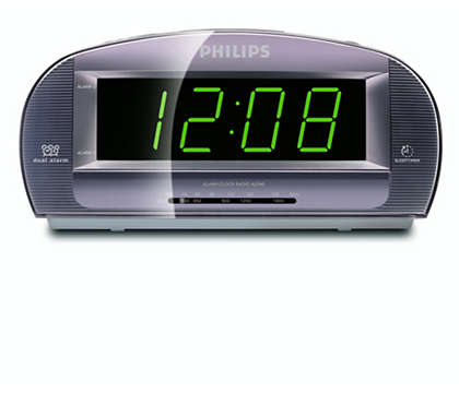 大螢幕顯示時鐘收音機