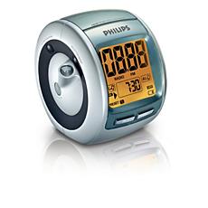AJ3600/00C  Radio réveil avec tuner numérique