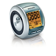 AJ3600/00C  Rádio relógio com sintonização digital