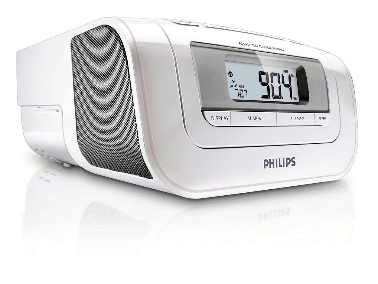 Dab Radio Alarm Clock With Cd Player Unique Alarm Clock