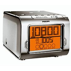 AJ3980/00  Radio-réveil