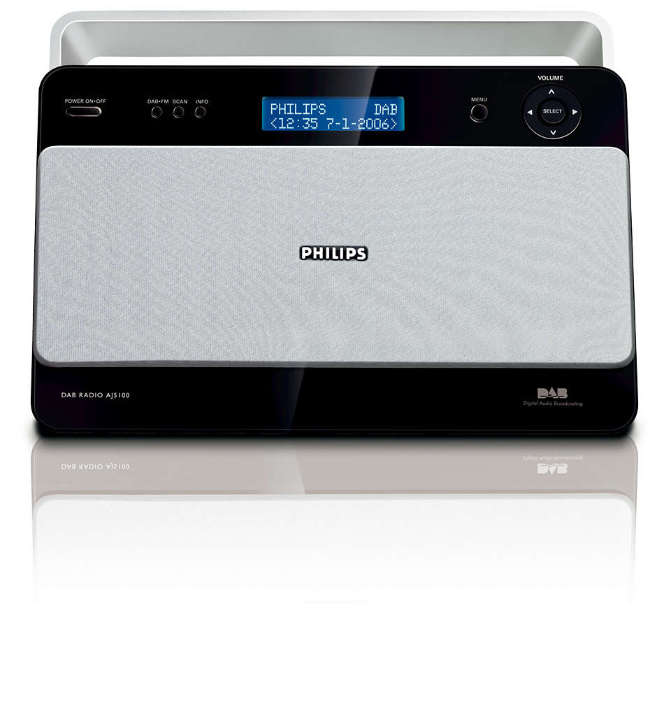 Digital radio with crystal clear sound quality