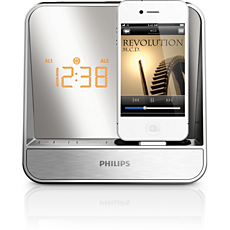 AJ5300D/05  Alarm Clock radio for iPod/iPhone