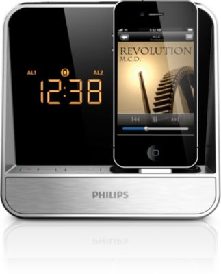 alarm clock radio for ipod iphone aj5300d 37 philips rh philips ca Taz From Looney Tunes Play iTunes On iPhone