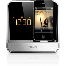 AJ5300D/37  Alarm Clock radio for iPod/iPhone