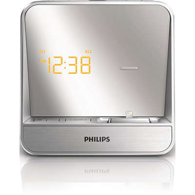 Alarm Clock Radio For Ipod Iphone Aj5305d 05 Philips