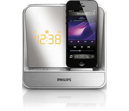 Zobuďte sa so skvelým zvukom z prehrávača iPod/iPhone