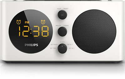 iphone clock radio