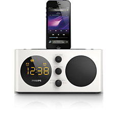 AJ6200D/12  Radio reloj despertador para iPod/iPhone