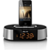 Clock radio for iPod/iPhone