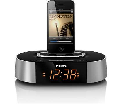 Acorde ao som da música do seu iPod/iPhone