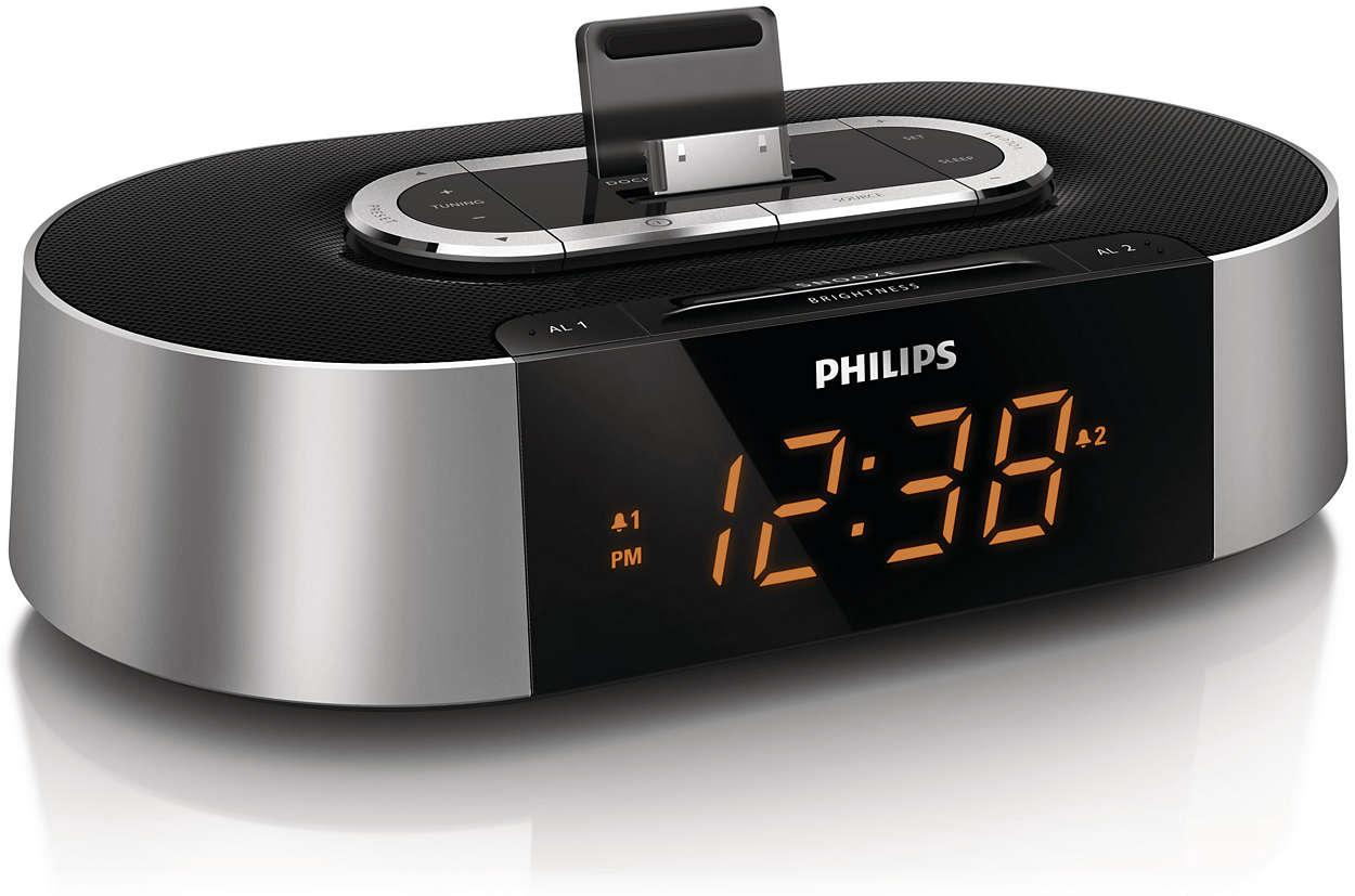 Ipod Nano Alarm Clock Docking Station