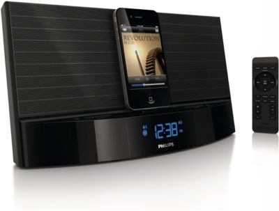 docking station for ipod iphone aj7040d 37 philips rh usa philips com Philips Dual Docking Station Philips Docking Station Manual